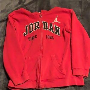 Boys large Jordan hoodie